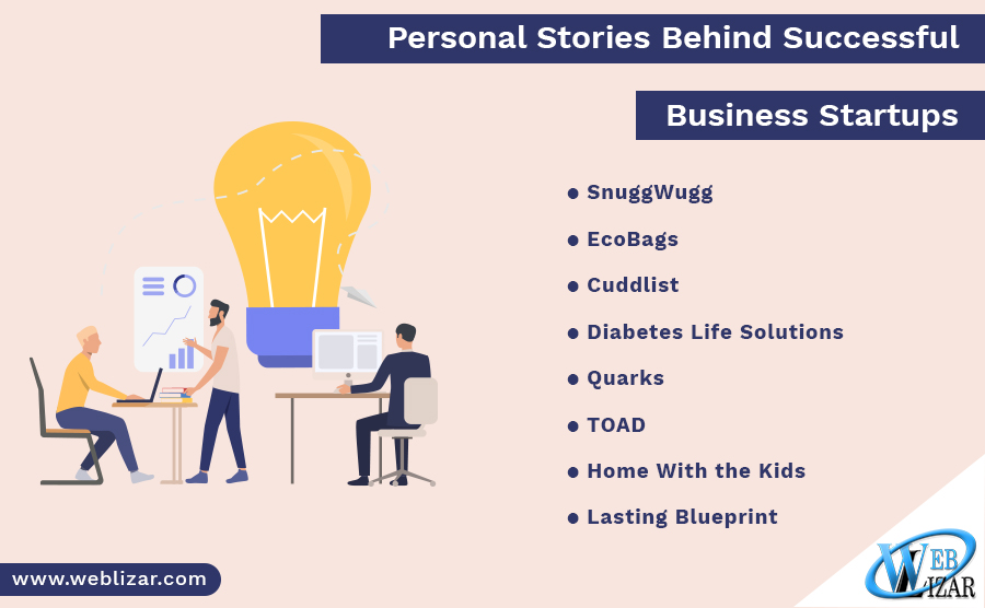 Personal Stories Behind Successful Business Startups