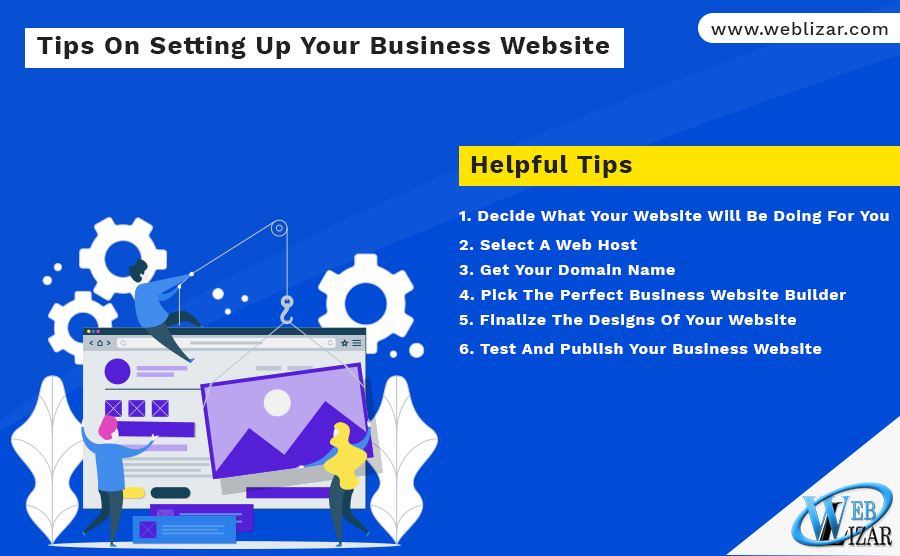 Tips On Setting Up Your Business Website