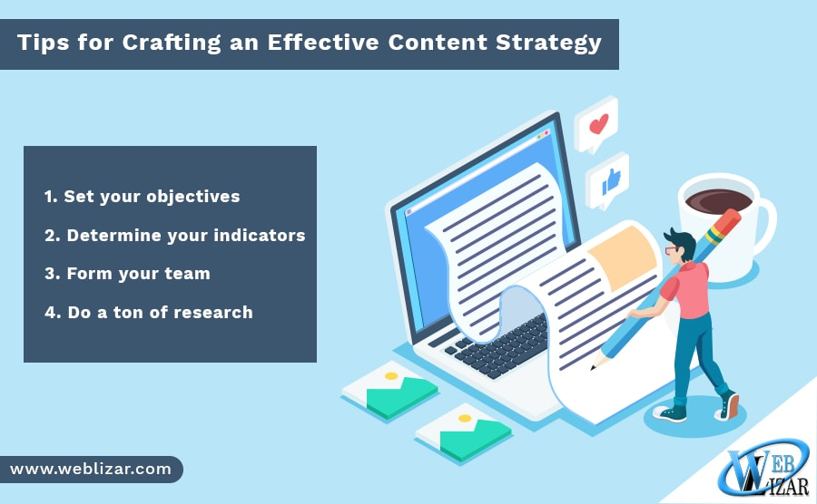 Tips for Crafting an Effective Content Strategy