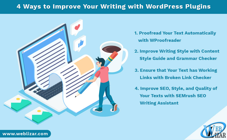 4 Ways to Improve Your Writing with WordPress Plugins
