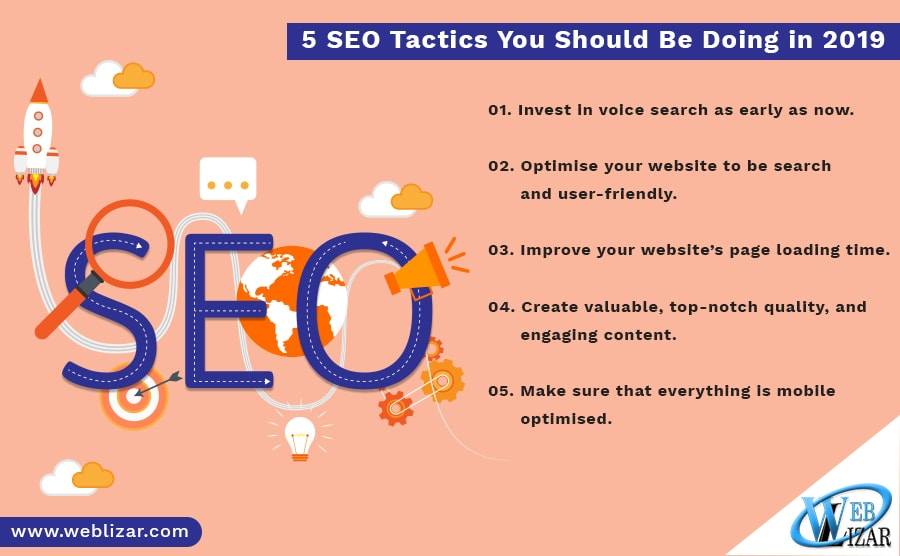 5 SEO Tactics You Should Be Doing in 2019