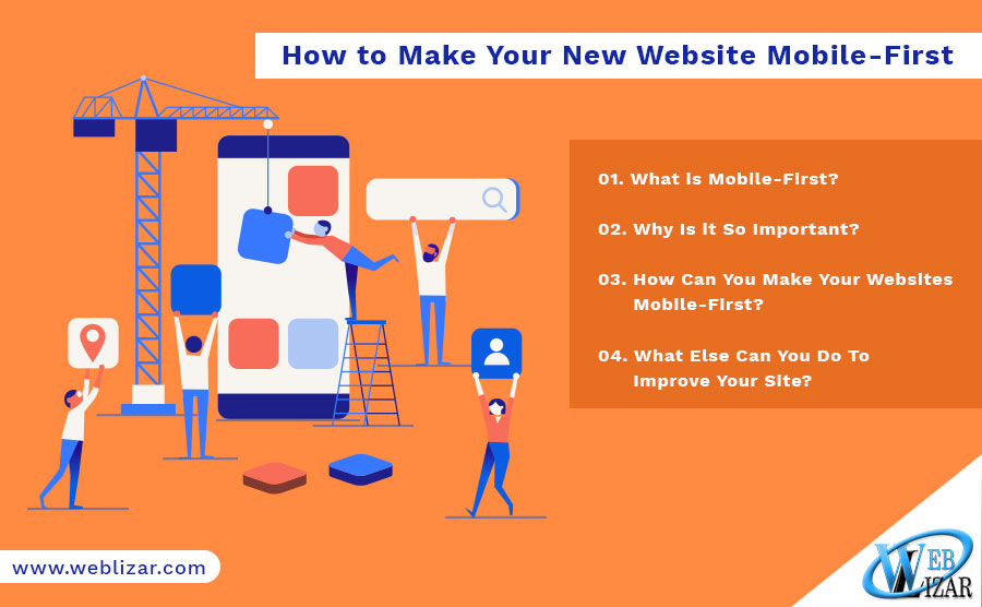 How to Make Your New Website Mobile-First