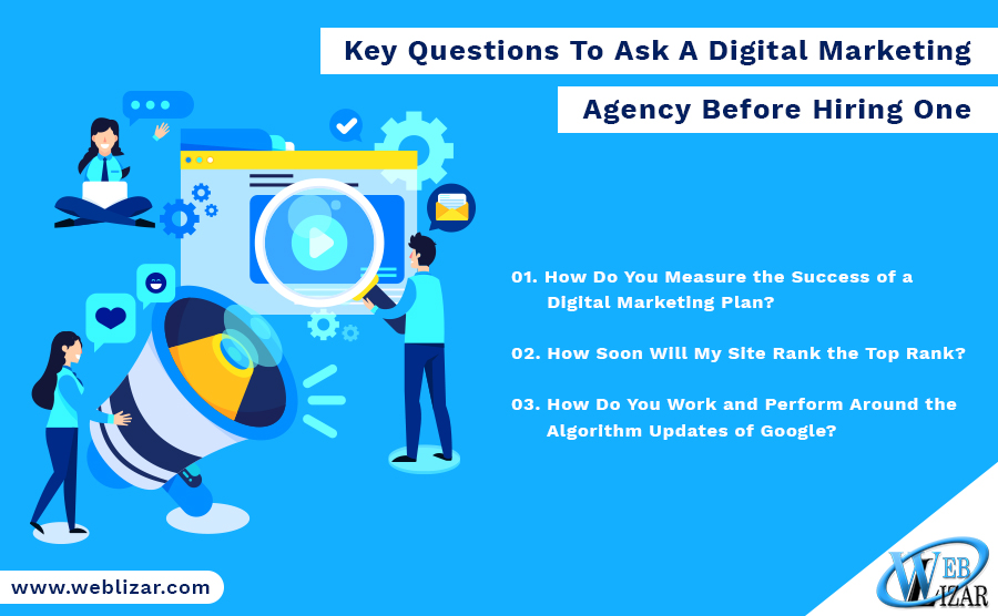 Key Questions To Ask A Digital Marketing Agency Before Hiring One