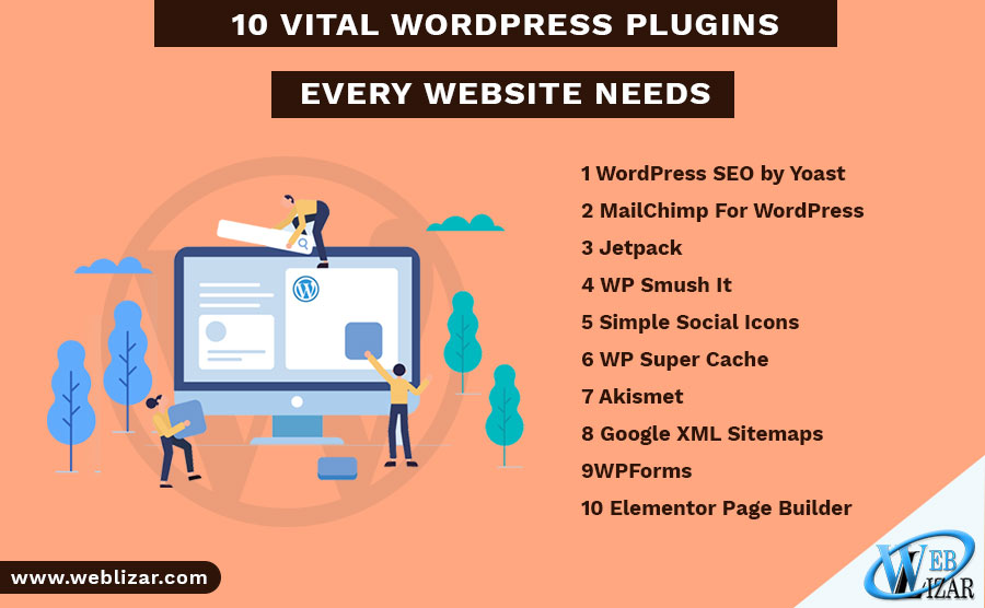 10 Vital WordPress Plugins Every Website Needs