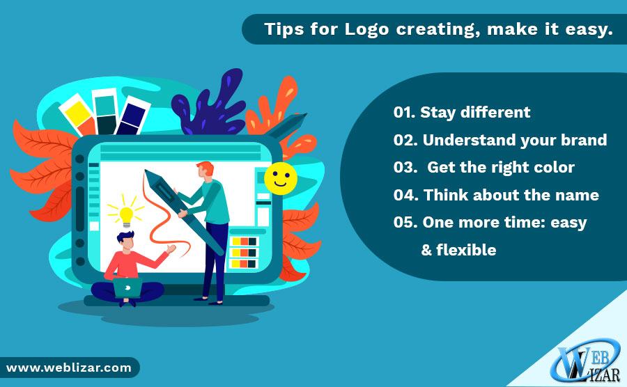 Tips for Logo creating, make it easy.