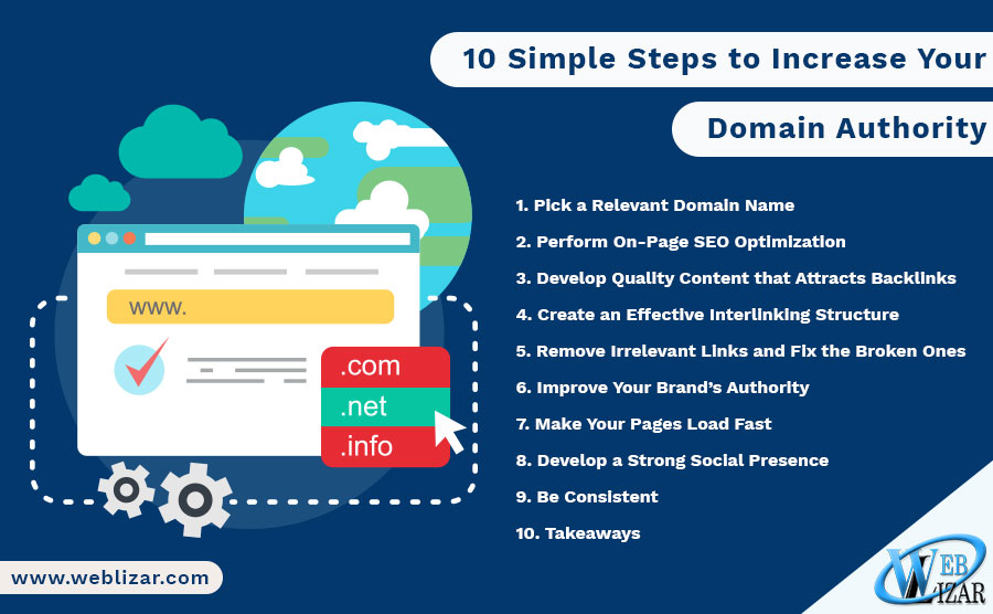 10 Simple Steps to Increase Your Domain Authority