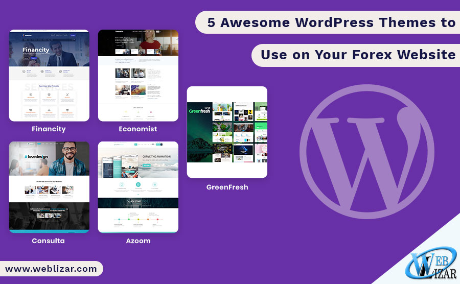 5 Awesome WordPress Themes to Use on Your Forex Website