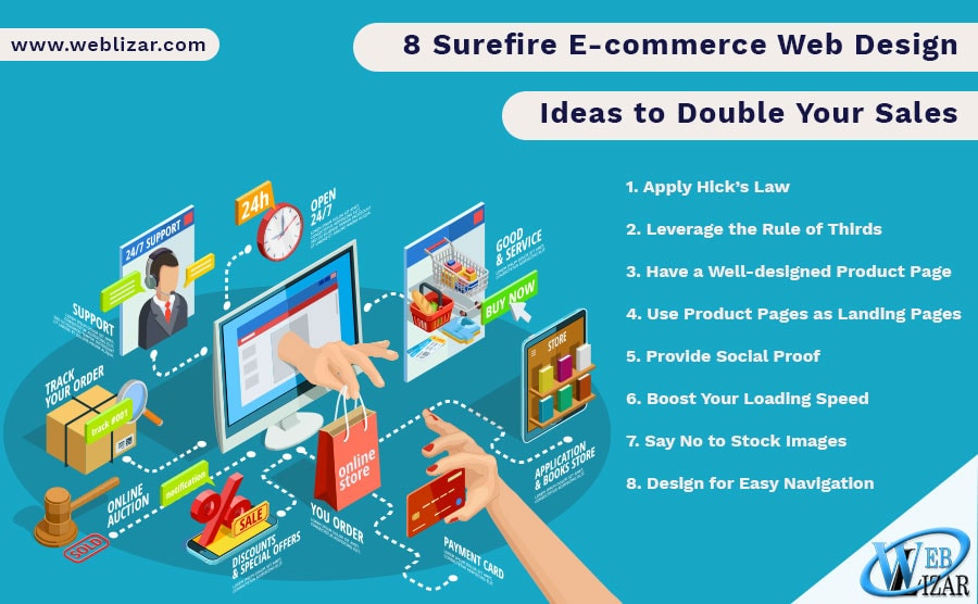 8 Surefire E-commerce Web Design Ideas to Double Your Sales