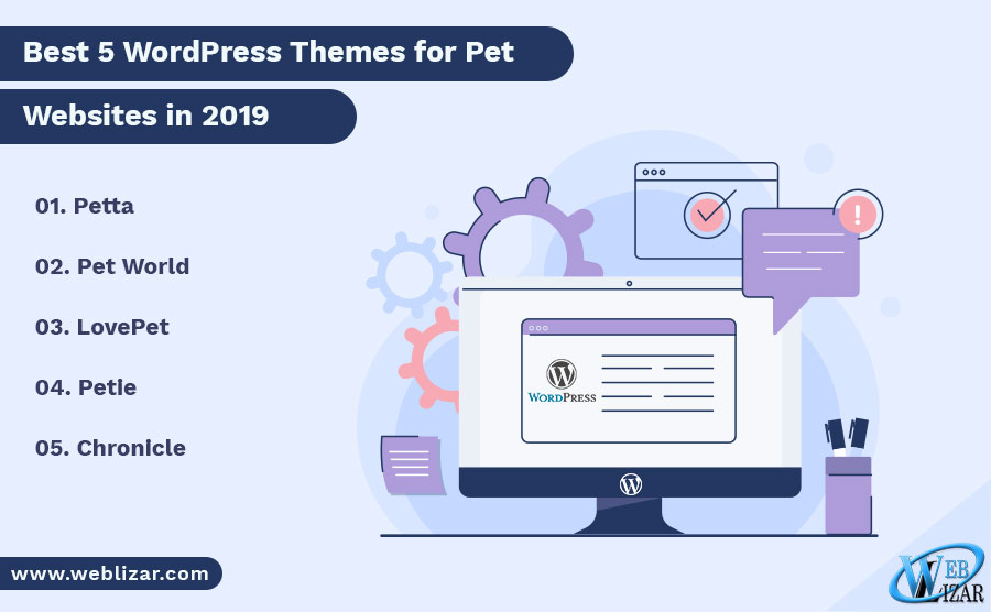 Best 5 WordPress Themes for Pet Websites in 2019