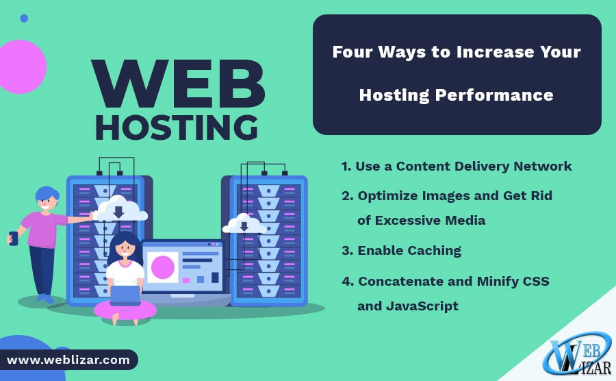 Four Ways to Increase Your Hosting Performance