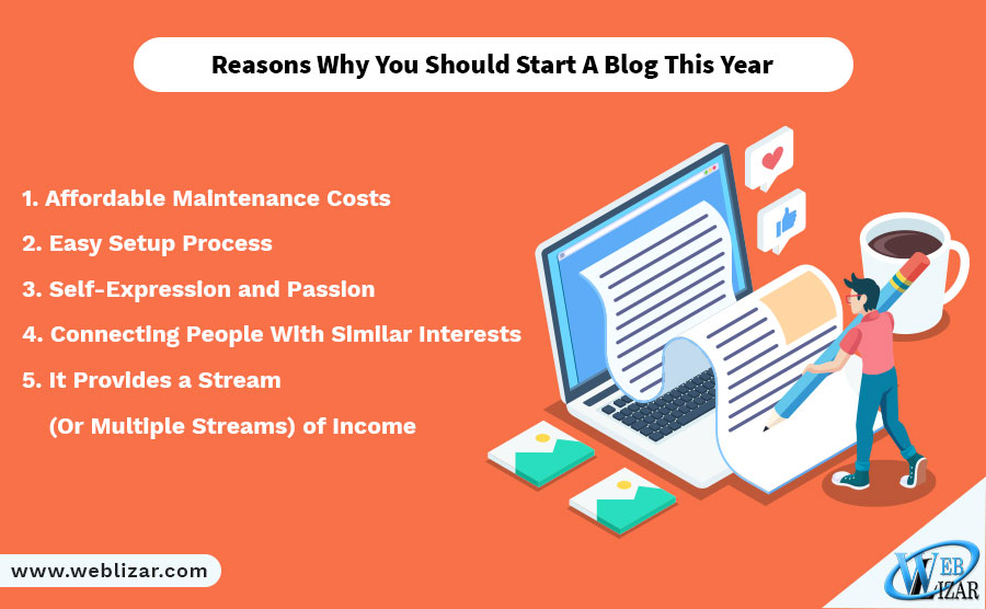 Reasons Why You Should Start A Blog This Year