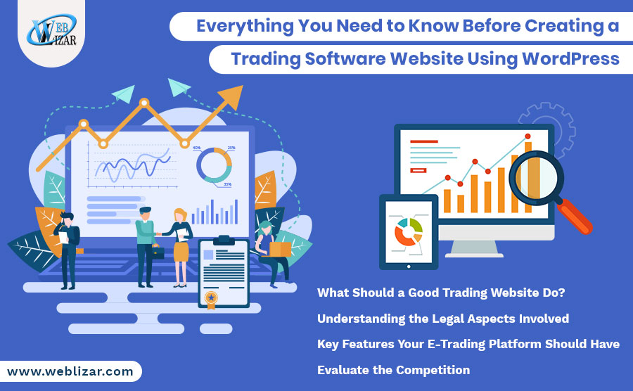Everything You Need to Know Before Creating a Trading Software Website Using WordPress