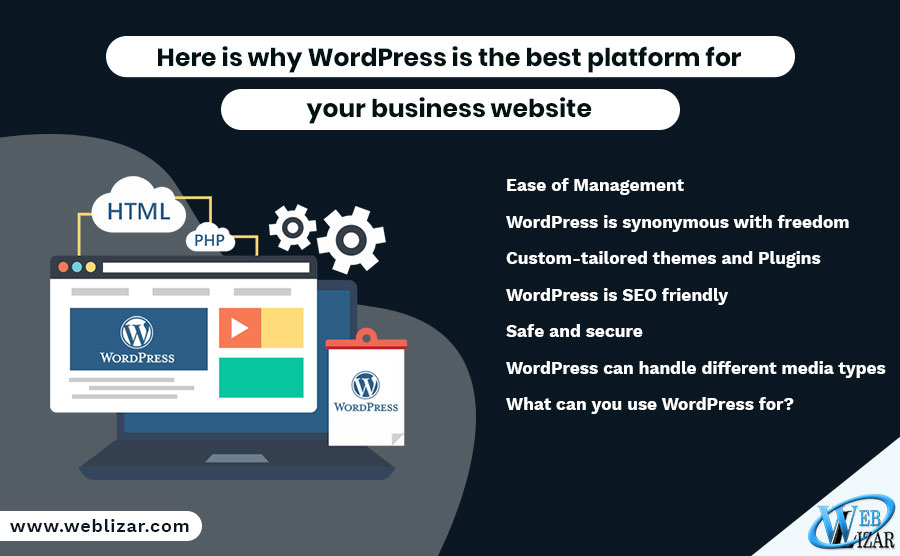 Here is why WordPress is the best platform for your business website