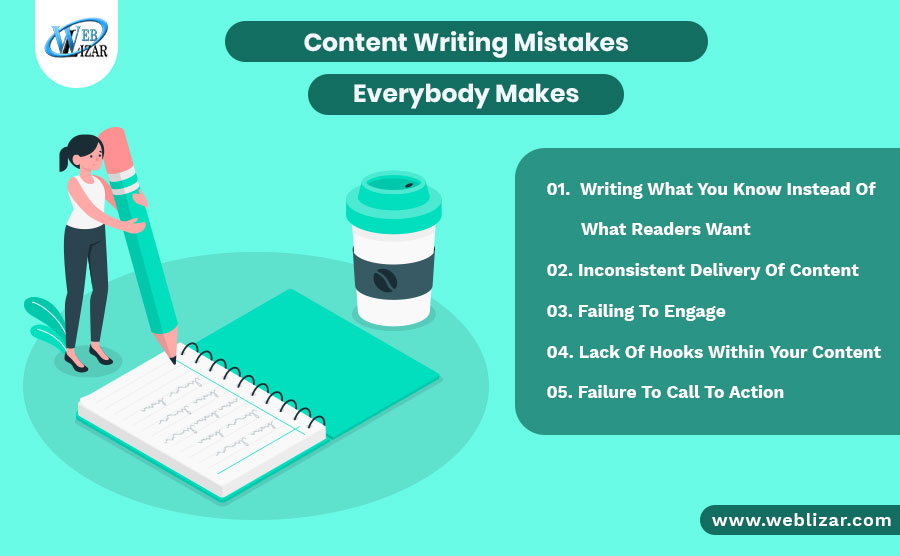 Content Writing Mistakes Everybody Makes