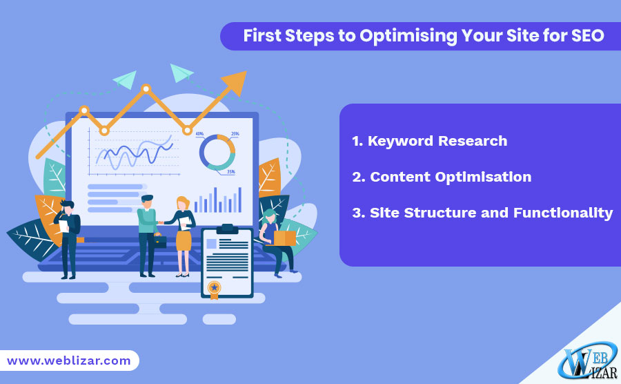 First Steps to Optimising Your Site for SEO