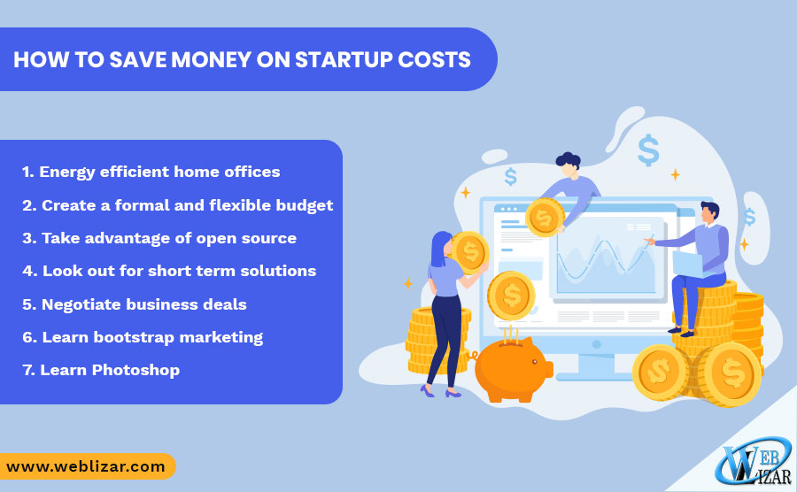 How to save money on startup costs
