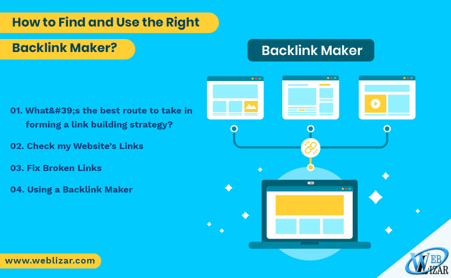 How to Find and Use the Right Backlink Maker?