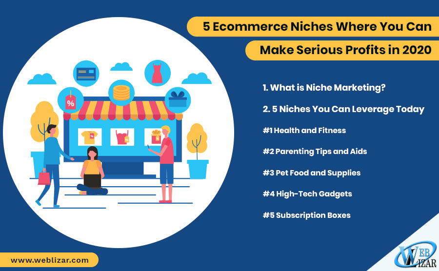 5 Ecommerce Niches Where You Can Make Serious Profits in 2020