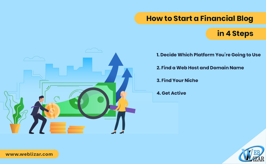 How to Start a Financial Blog in 4 Steps
