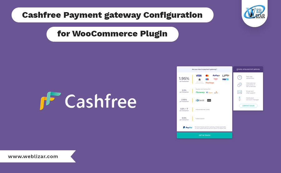 Cashfree Payment gateway Configuration for WooCommerce Plugin