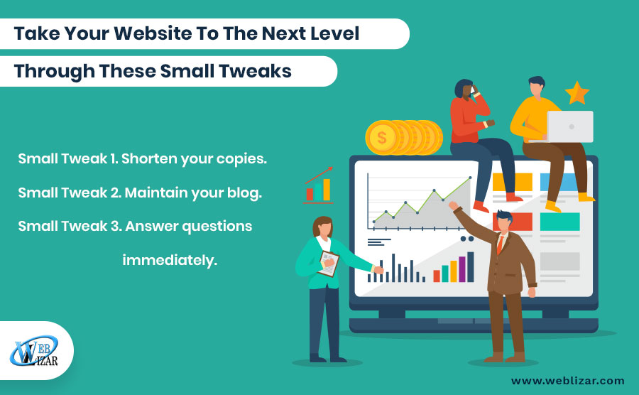 Take Your Websites To The Next Level Through These Small Tweaks