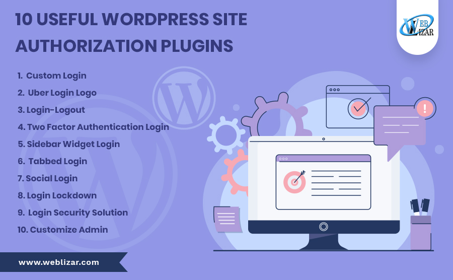 10 useful WordPress site authorization plugins