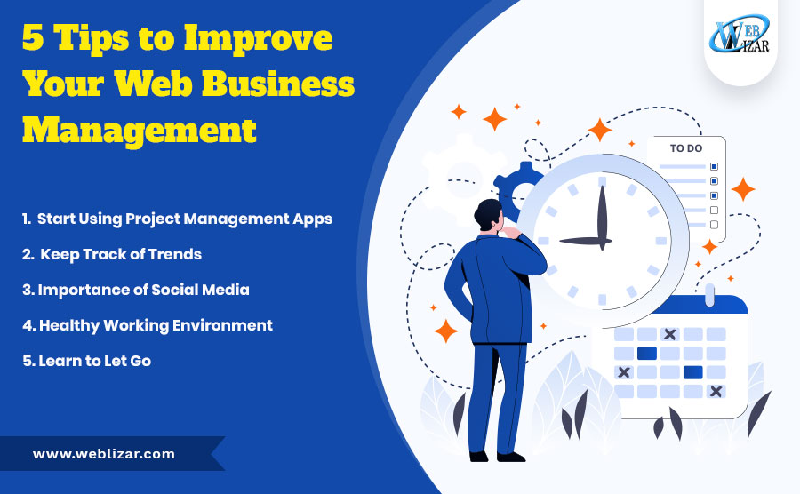 5 Tips to Improve Your Web Business Management