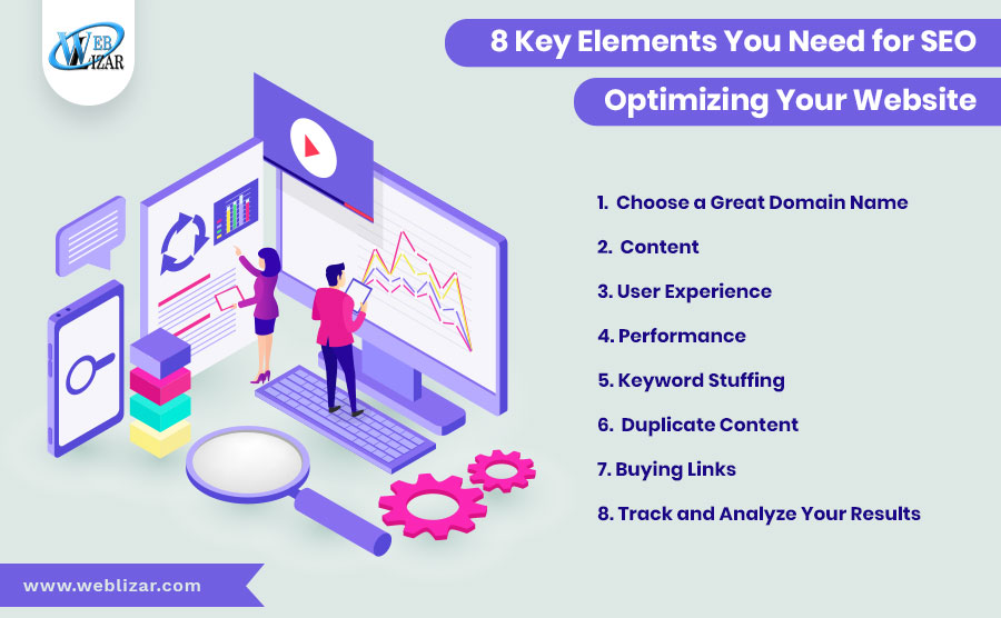 8 Key Elements You Need for SEO Optimization of Your Website