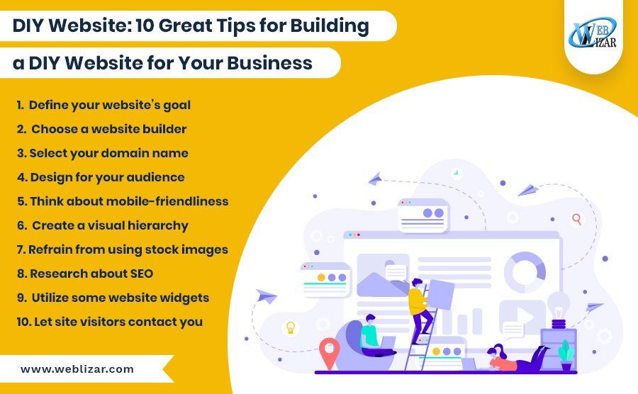 DIY Websites: 10 Great Tips for Building a DIY Website for Your Business