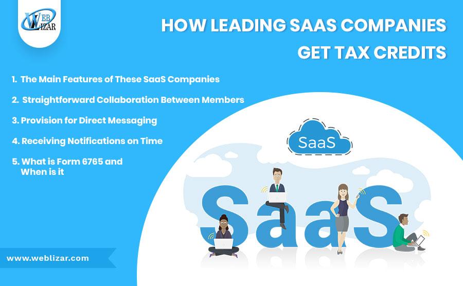 How Leading SaaS Companies Get Tax Credits
