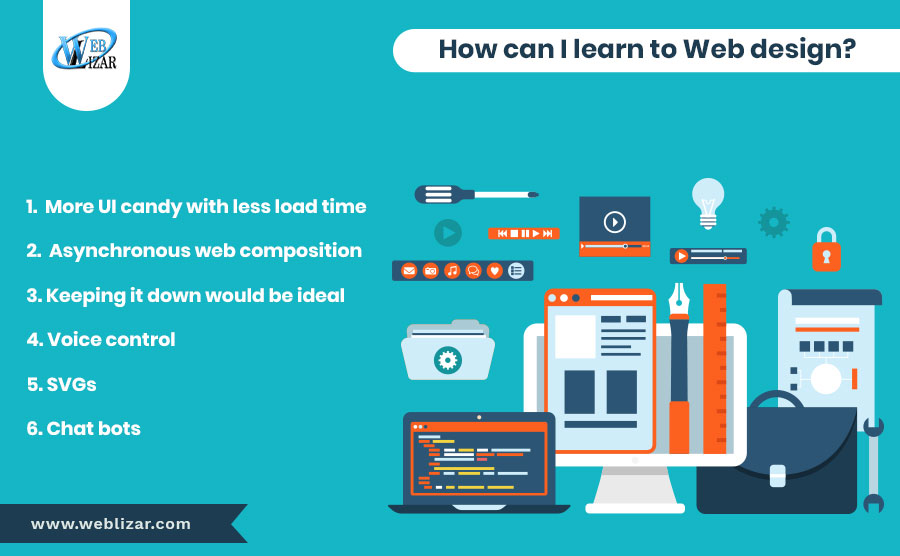 How can I learn Web design?