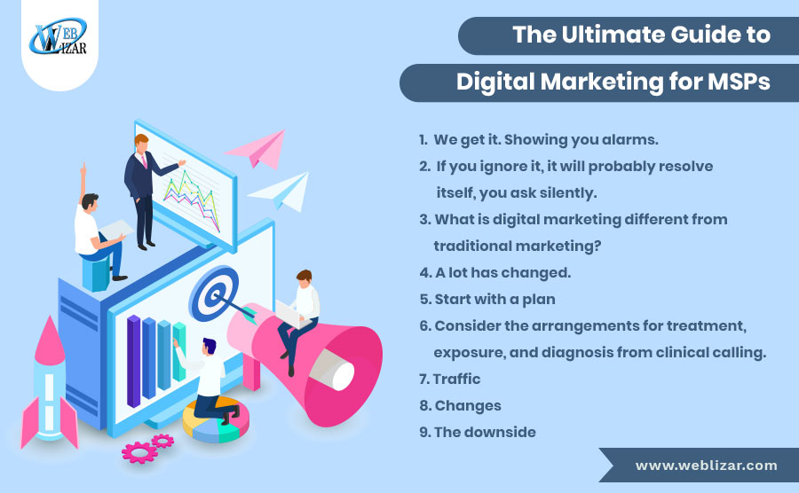 The Ultimate Guide to Digital Marketing  for MSP Advertising