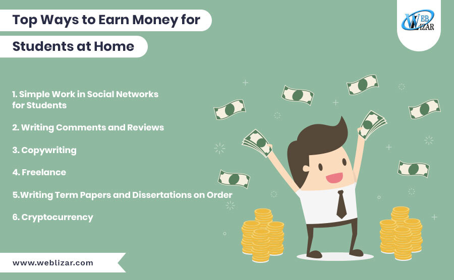 Top Ways to Earn Money for Students at Home