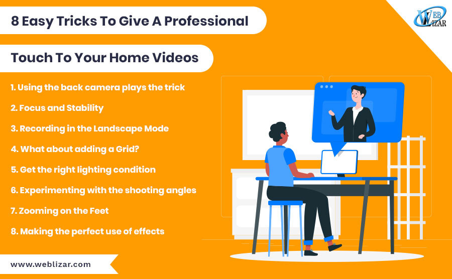 8 Easy Tricks To Give A Professional Touch To Your Home Videos