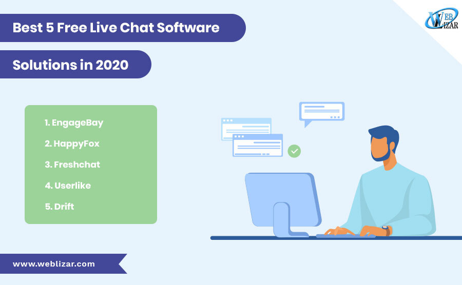 Best 5 Free Live Chat Software Solutions in 2020