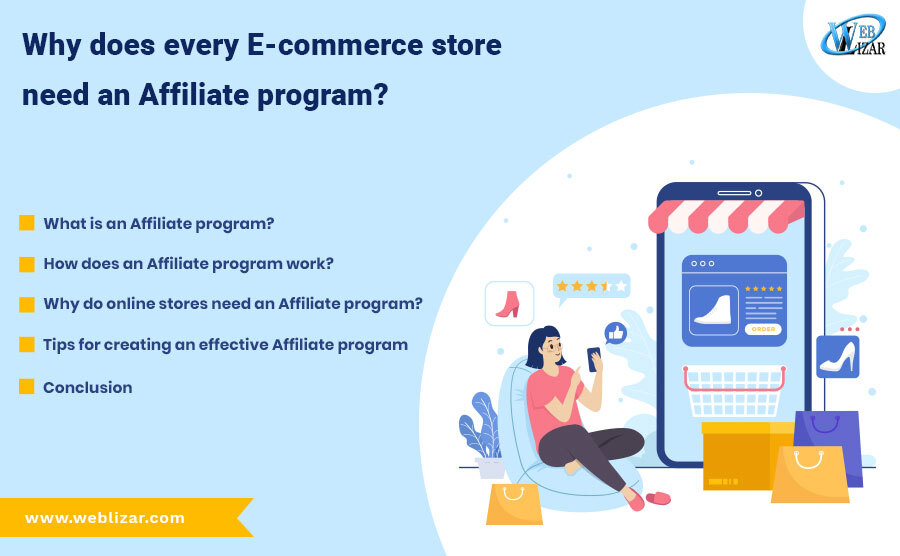 Why Does Every E-commerce store need an affiliate program
