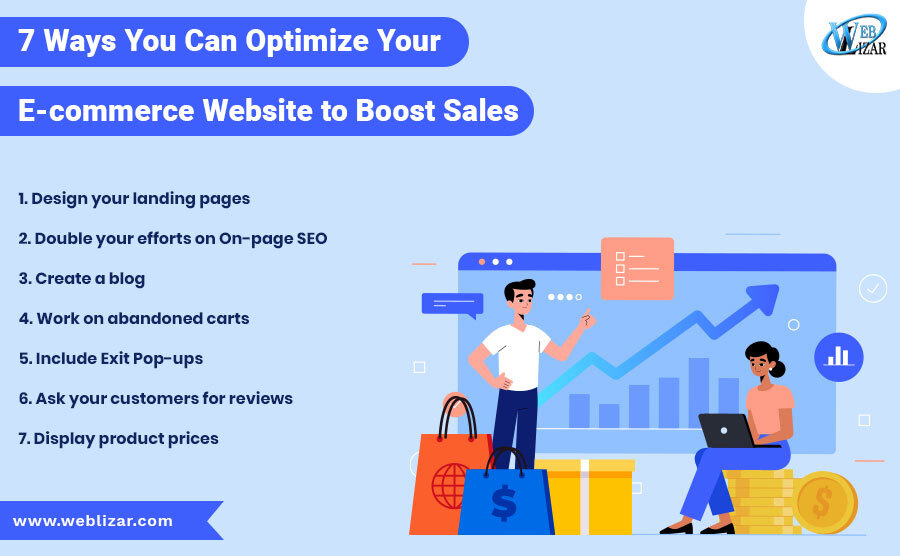 7 Ways You Can Optimize Your E-commerce Website to Boost Sales