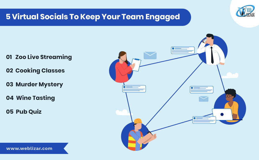 5 Virtual Socials To Keep Your Team Engaged