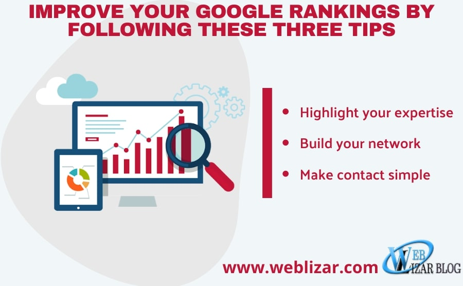 Improve Your Google Rankings By Following These Three Tips