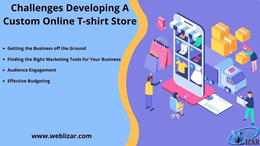 Challenges Developing A Custom Online T-Shirt Store