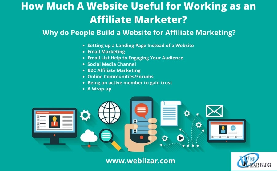 How Much A Website Useful for Working as an Affiliate Marketer?