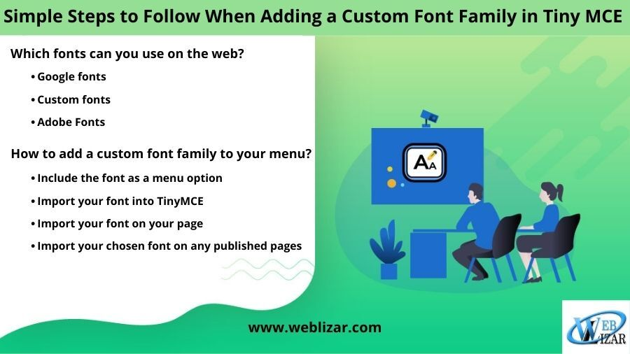 Simple Steps to Follow When Adding a Custom Font Family in TinyMCE