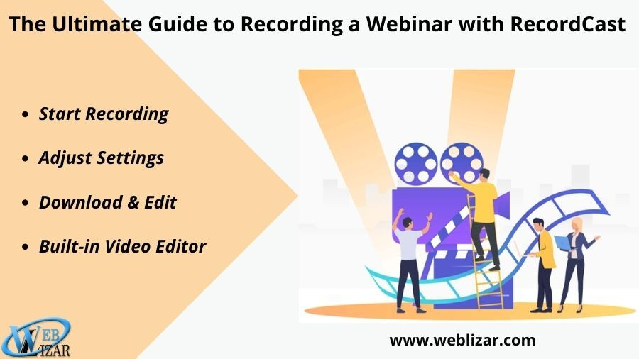 The Ultimate Guide to Recording a Webinar with RecordCast