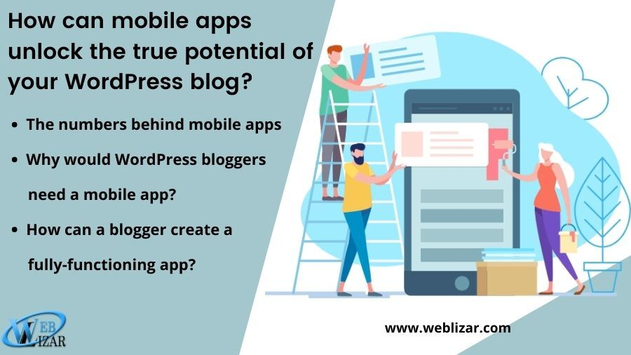 How can mobile apps unlock the true potential of your WordPress blog?