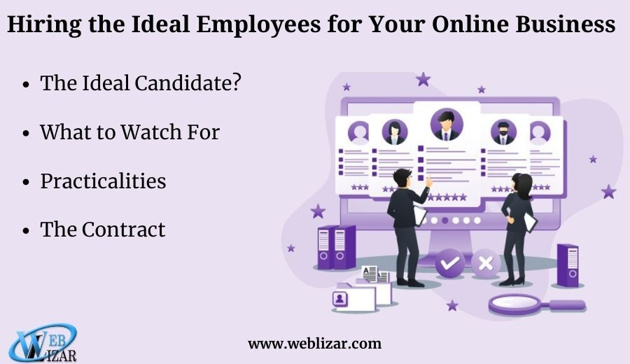 Hiring the Ideal Employees for Your Online Business