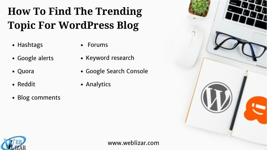 How To Find The trending Topics For WordPress Blog