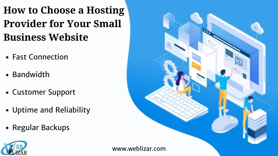 How to Choose a Hosting Provider for Your Small Business Website