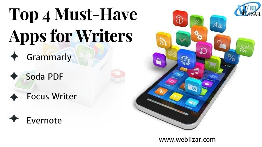 Top 4 Must-Have Apps for Writers