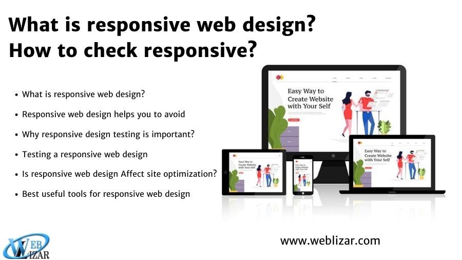 What is responsive web design? How to check responsive?