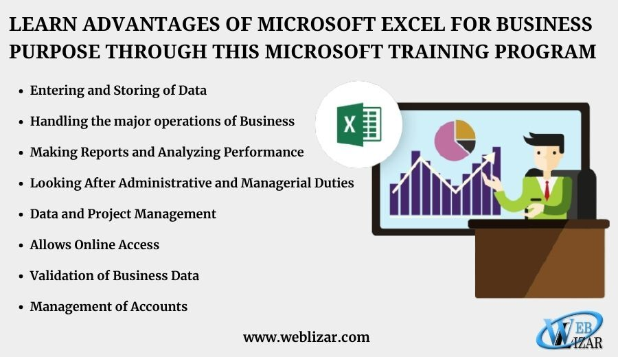 Learn Advantages Of Microsoft Excel for Business Purpose Through This Microsoft Training Program
